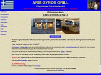 aris-gyros-grill.de Webseite Vorschau