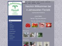 4-jahreszeiten-floristik.de Webseite Vorschau