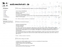audiowerkstatt.de