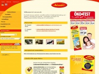 aeroxon.de Webseite Vorschau