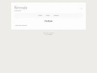 rimmele.de Webseite Vorschau