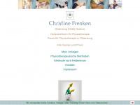 physio-frenken.de Webseite Vorschau