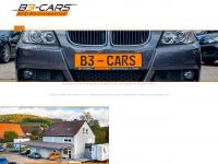 b3-cars.de Webseite Vorschau