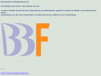 b3f.de Webseite Vorschau
