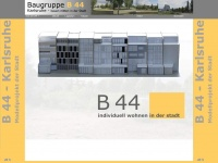 b44-karlsruhe.de Webseite Vorschau