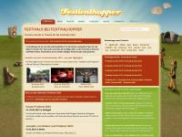 festivalhopper.de Webseite Vorschau