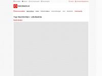 meinbezirk.at Webseite Vorschau