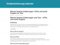 kindersicherung-internet.de Webseite Vorschau