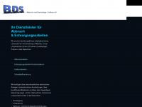 bds-abbruch.de Webseite Vorschau