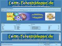lotto-totostrategen.de Webseite Vorschau