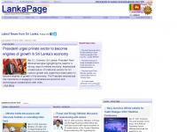 lankapage.com Webseite Vorschau