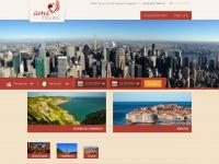 ams-tours.de Webseite Vorschau