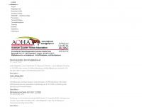 aqha.at Webseite Vorschau