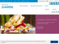 zuwebe.ch Webseite Vorschau