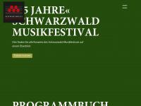 schwarzwald-musikfestival.de Webseite Vorschau