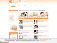 kosmetik.com Webseite Vorschau