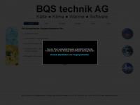 bqs-technik.ch Webseite Vorschau