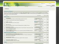xhtmlforum.de Webseite Vorschau