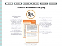 standardpatientenverfuegung.de