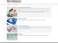 kirschbaum-edv.de Webseite Vorschau