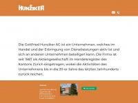 1818.ch Webseite Vorschau