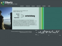 23hertz.at Webseite Vorschau