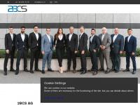2bcs.ch Webseite Vorschau