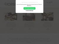4horses.at Webseite Vorschau