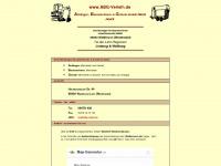 abg-verleih.de Webseite Vorschau