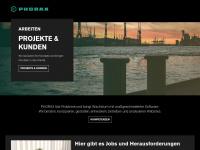 phorax.com Webseite Vorschau