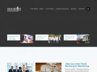 am-buero.de Webseite Vorschau