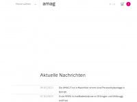 amagpress.ch Webseite Vorschau