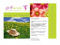 amavida.at Webseite Vorschau
