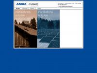 amax-energie.ch Webseite Vorschau