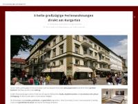 amkurgarten.de Webseite Vorschau