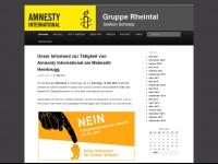 amnesty-rheintal.ch Webseite Vorschau