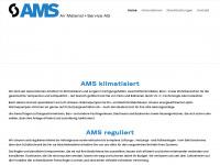 ams-klima.ch Webseite Vorschau