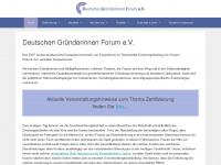 dgfev.de Webseite Vorschau