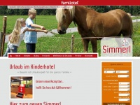babyhotel-bayern.de Webseite Vorschau