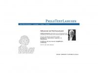 Philotextlahusen.de