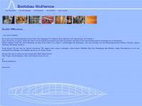 bootsbau-wuthenow.de