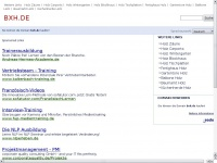 bxh.de Webseite Vorschau