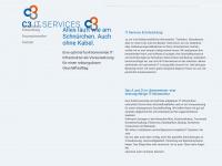 c3online.at Webseite Vorschau
