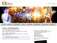 qclub.de Webseite Vorschau