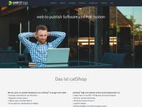 catshop.de Webseite Vorschau