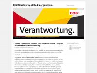 cdu-mgh.de Webseite Vorschau