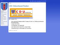 cdu-panker.de Webseite Vorschau