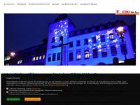 cdu-porz.de Webseite Vorschau