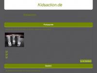 kidsaction.de Webseite Vorschau
