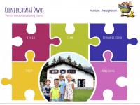 kinderbetreuung-davos.ch Webseite Vorschau